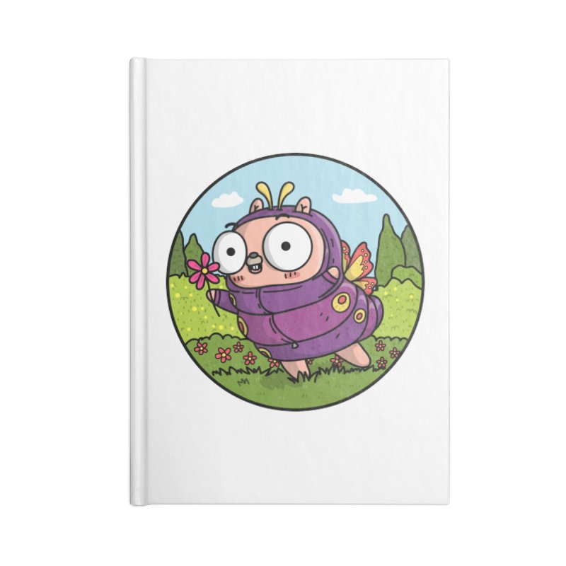 Bug or Feature Gopher Accessories Blank Journal Notebook by Women Who Go