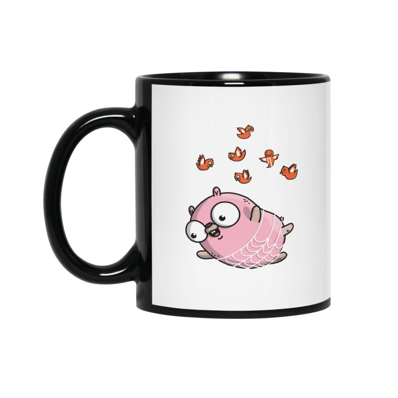 Fly Away With Me Gopher Accessories Mug by Women Who Go