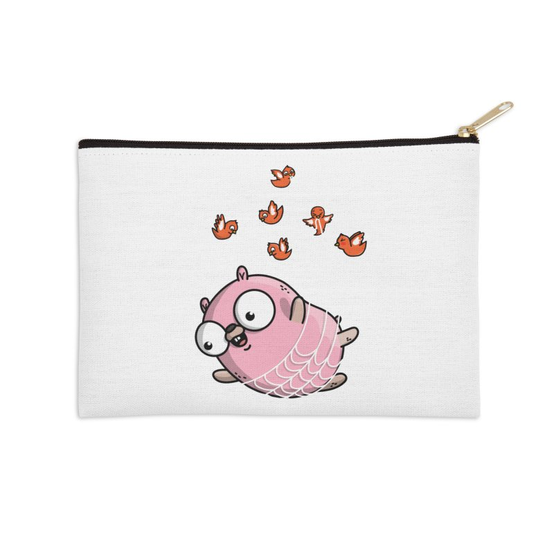 Fly Away With Me Gopher Accessories Zip Pouch by Women Who Go