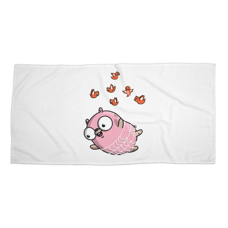 Fly Away With Me Gopher Accessories Beach Towel by Women Who Go