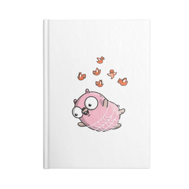 Fly Away With Me Gopher Accessories Blank Journal Notebook by Women Who Go
