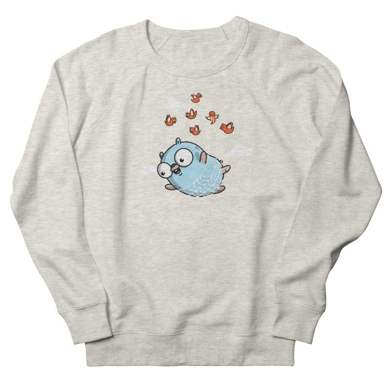 Fly Away With Me Gopher (Blue) Men's Sweatshirt by Women Who Go