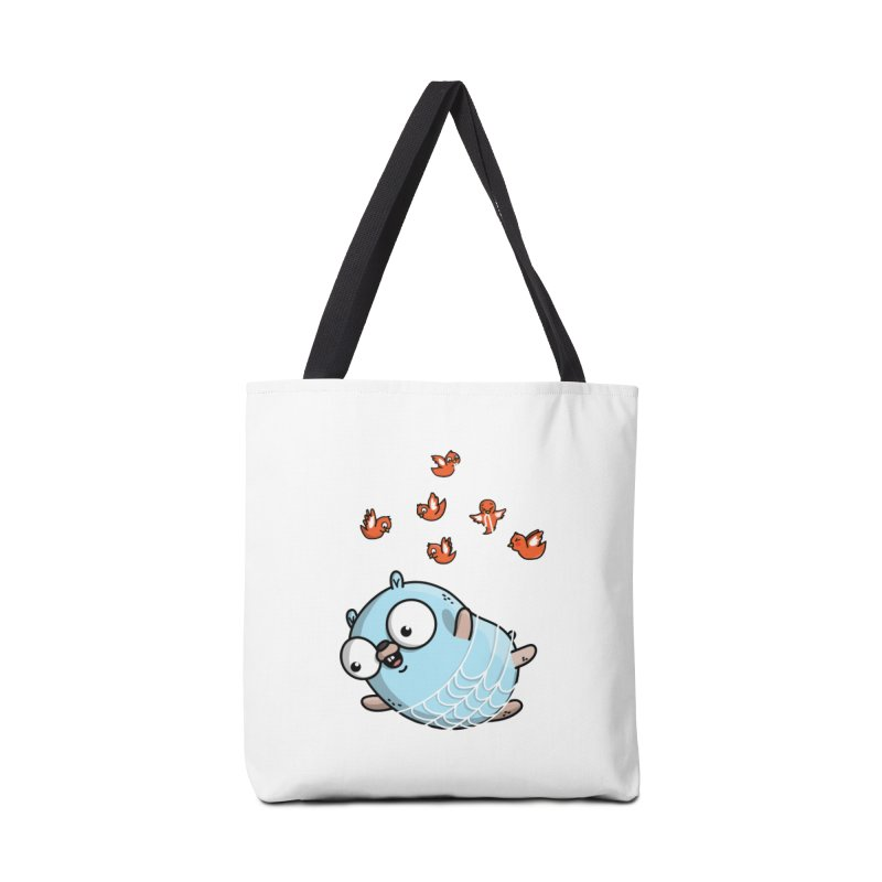 Fly Away With Me Gopher (Blue) Accessories Bag by Women Who Go