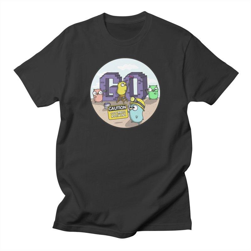 GoBuild Men's T-Shirt by Women Who Go
