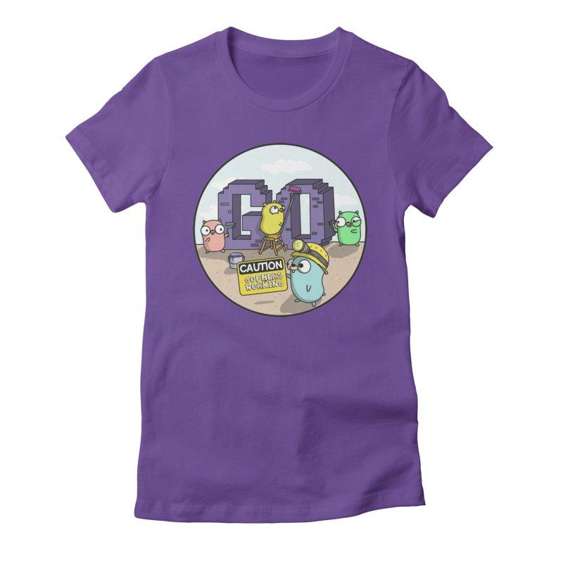 GoBuild Women's T-Shirt by Women Who Go