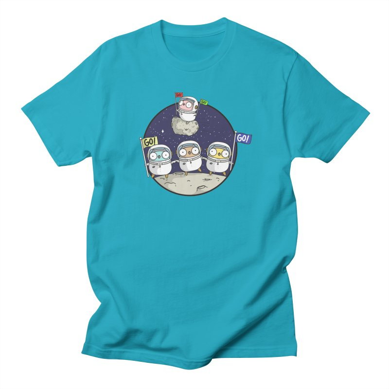 Space Gophers Men's T-Shirt by Women Who Go