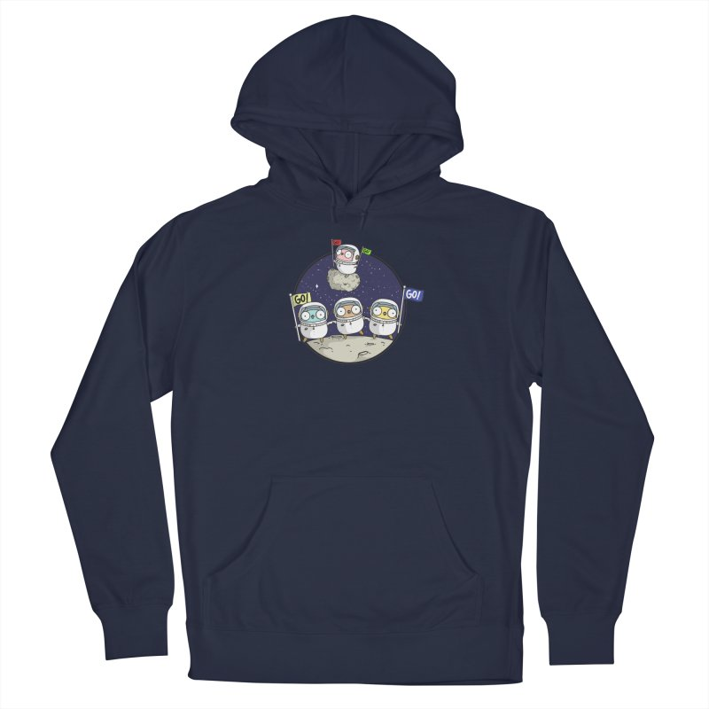 Space Gophers Men's Pullover Hoody by Women Who Go