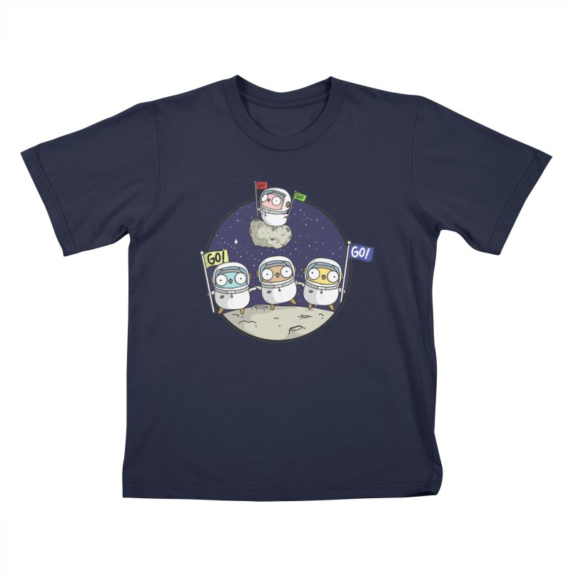 Space Gophers Kids T-Shirt by Women Who Go
