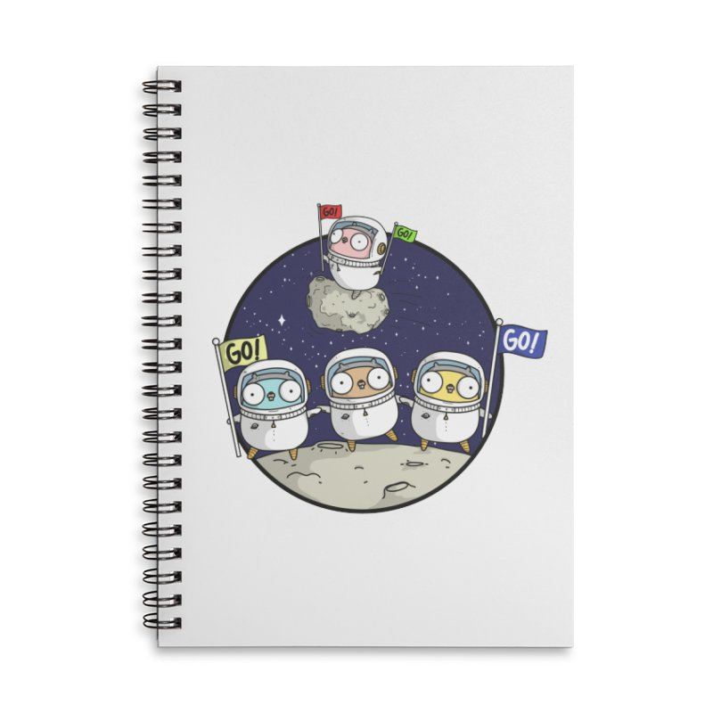 Space Gophers Accessories Notebook by Women Who Go