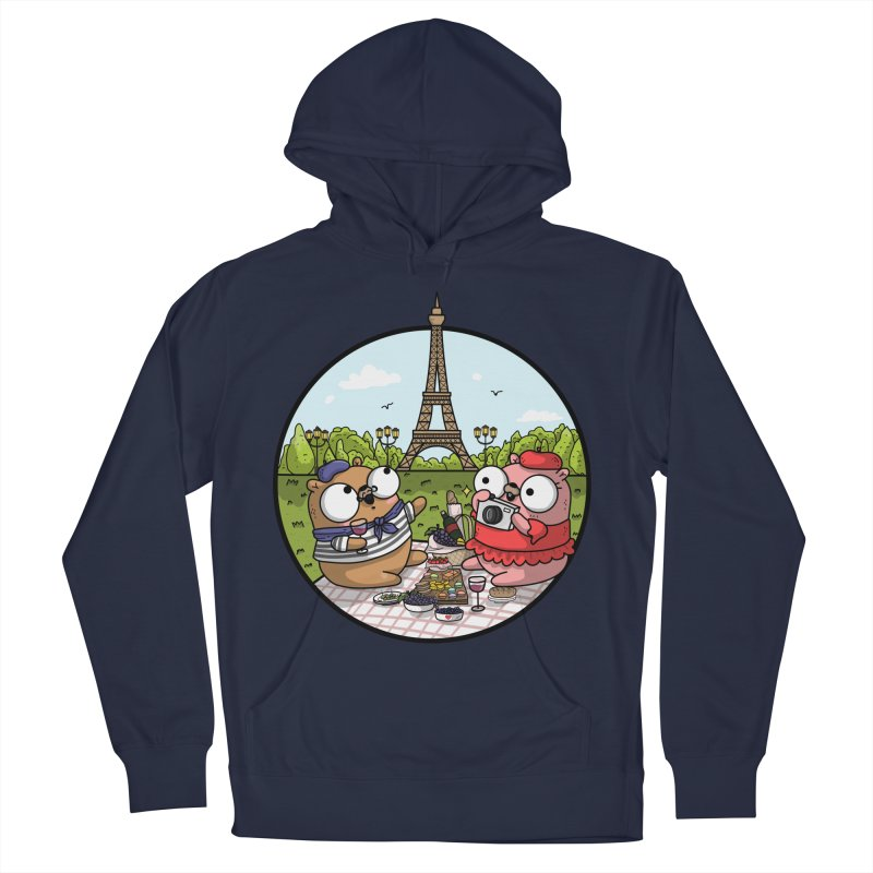 French Gophers Women's French Terry Pullover Hoody by Women Who Go