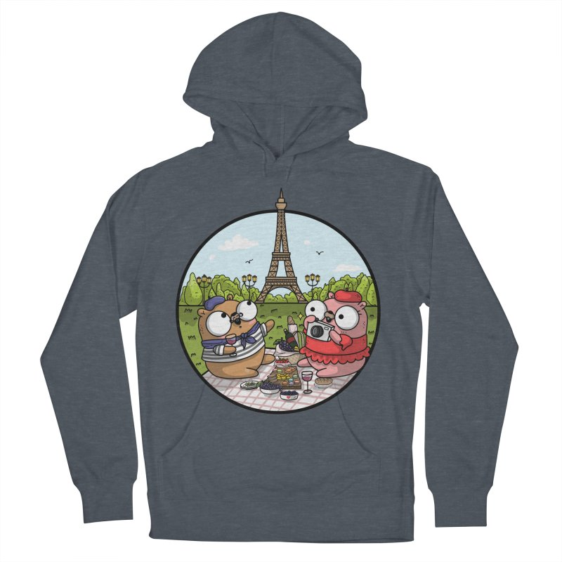 French Gophers Men's French Terry Pullover Hoody by Women Who Go