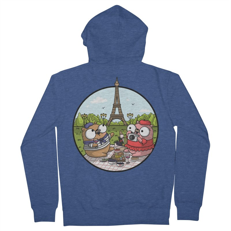 French Gophers Men's Zip-Up Hoody by Women Who Go