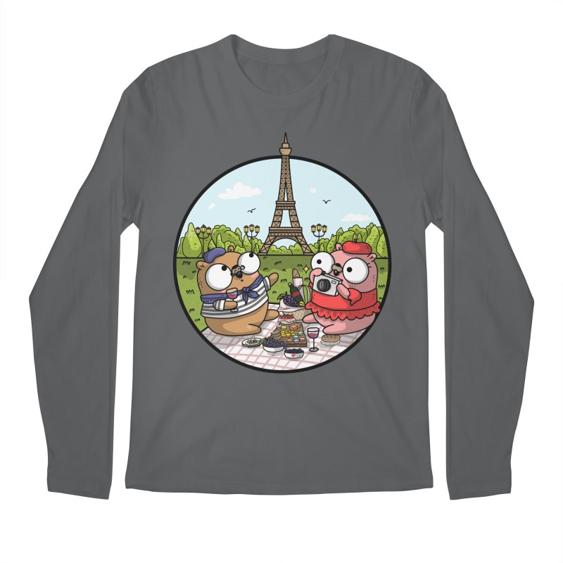 French Gophers Men's Longsleeve T-Shirt by Women Who Go