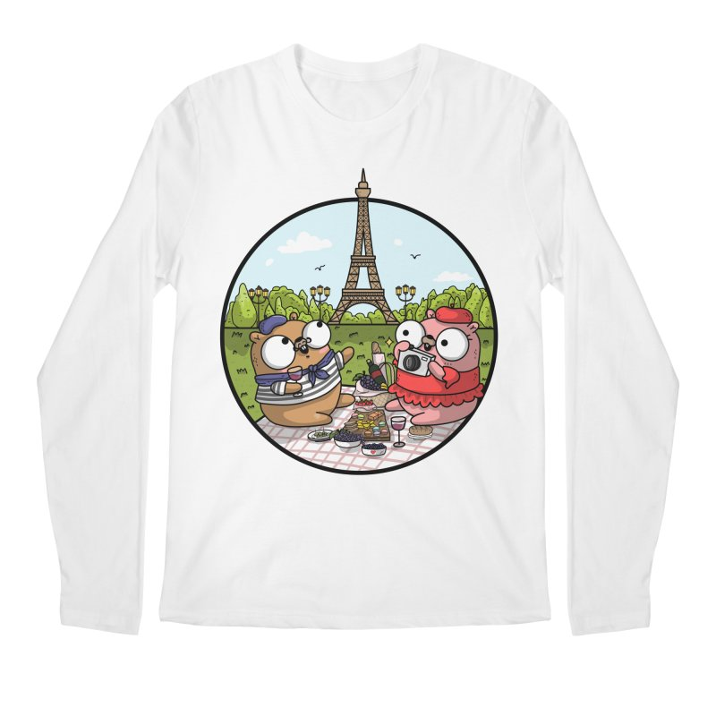 French Gophers Men's Regular Longsleeve T-Shirt by Women Who Go