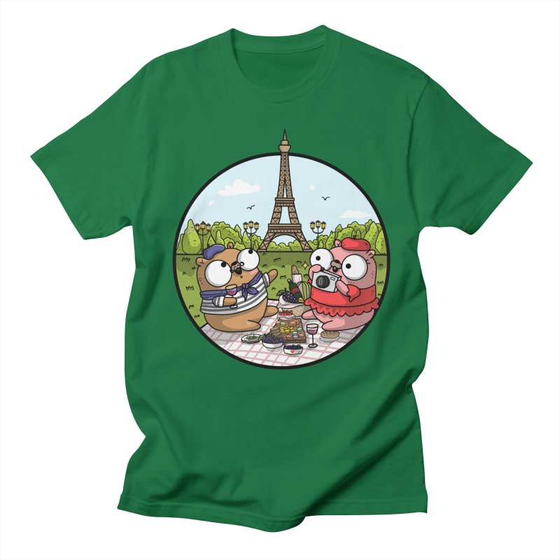 French Gophers Men's T-Shirt by Women Who Go