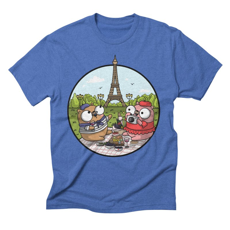 French Gophers Men's Triblend T-Shirt by Women Who Go
