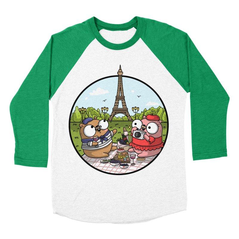 French Gophers Women's Baseball Triblend Longsleeve T-Shirt by Women Who Go