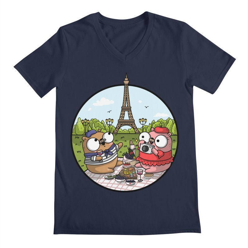 French Gophers Men's V-Neck by Women Who Go