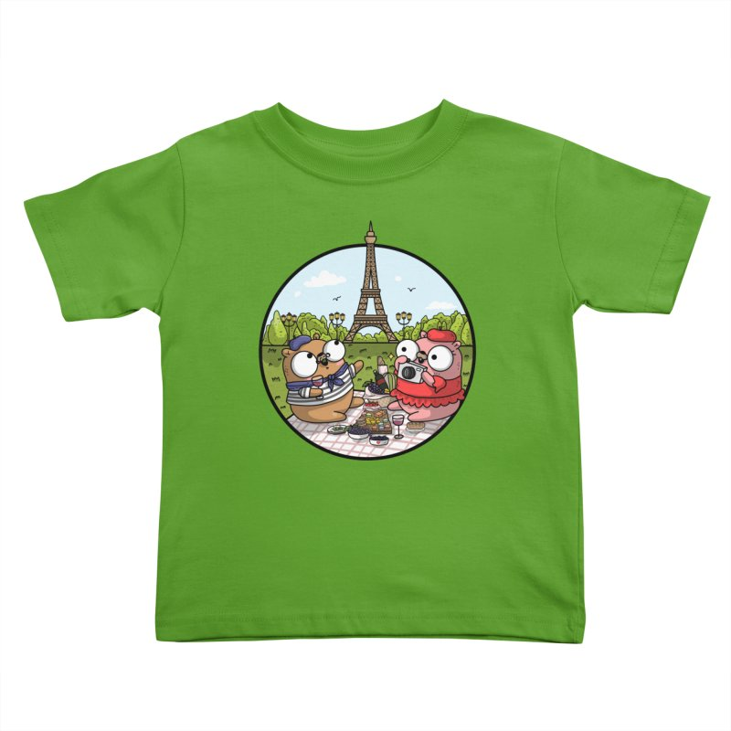French Gophers Kids Toddler T-Shirt by Women Who Go