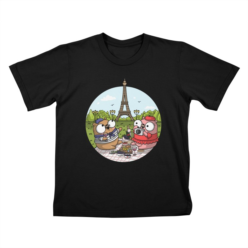 French Gophers Kids T-Shirt by Women Who Go