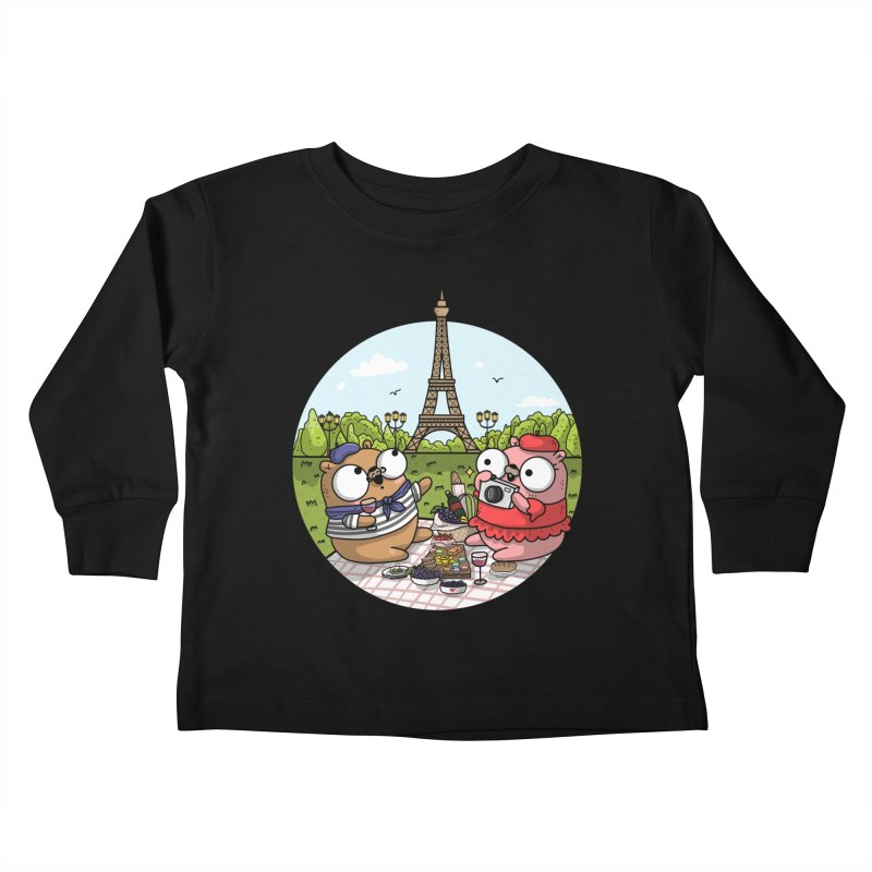 French Gophers Kids Toddler Longsleeve T-Shirt by Women Who Go