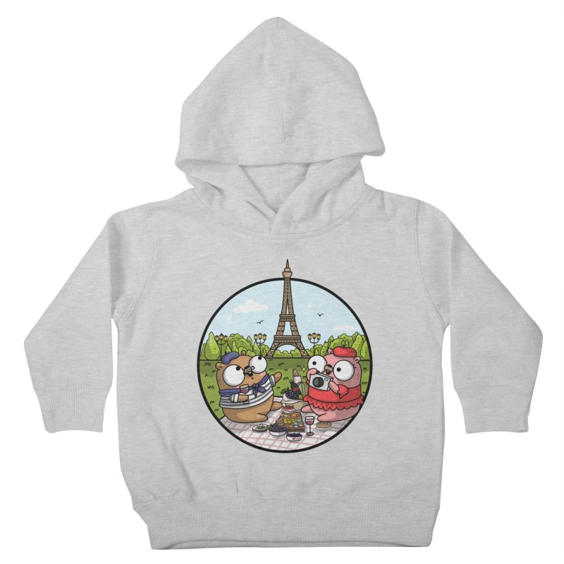 French Gophers Kids Toddler Pullover Hoody by Women Who Go
