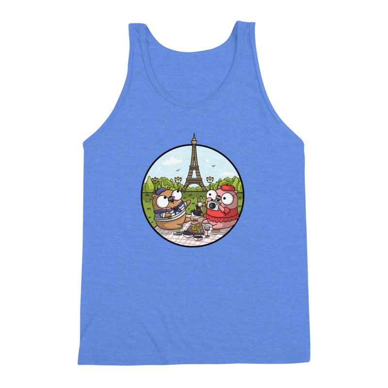 French Gophers Men's Triblend Tank by Women Who Go
