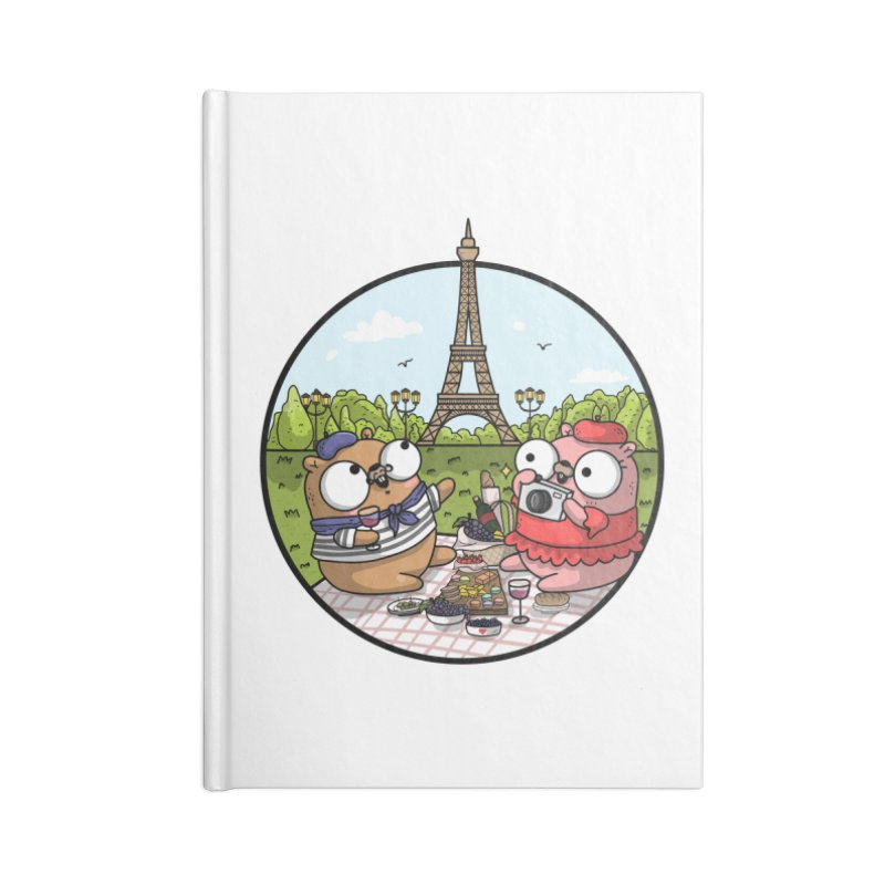 French Gophers Accessories Blank Journal Notebook by Women Who Go