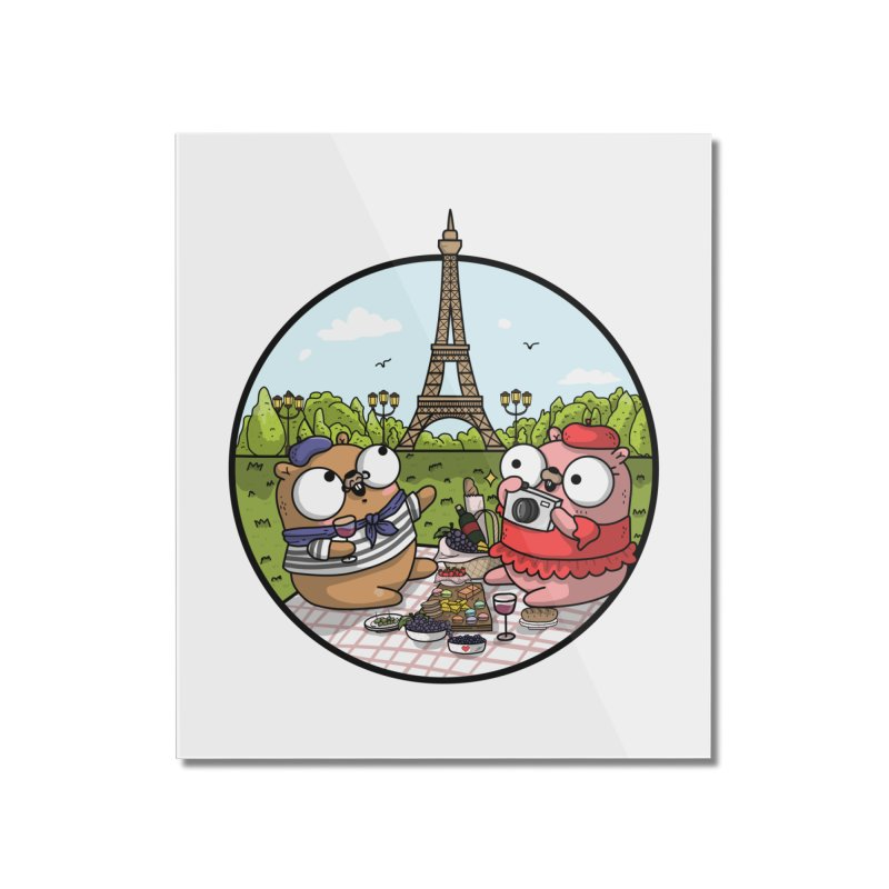French Gophers Home Mounted Acrylic Print by Women Who Go