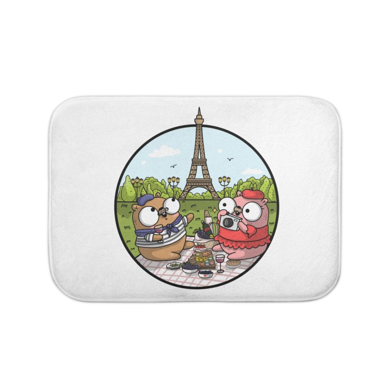 French Gophers Home Bath Mat by Women Who Go