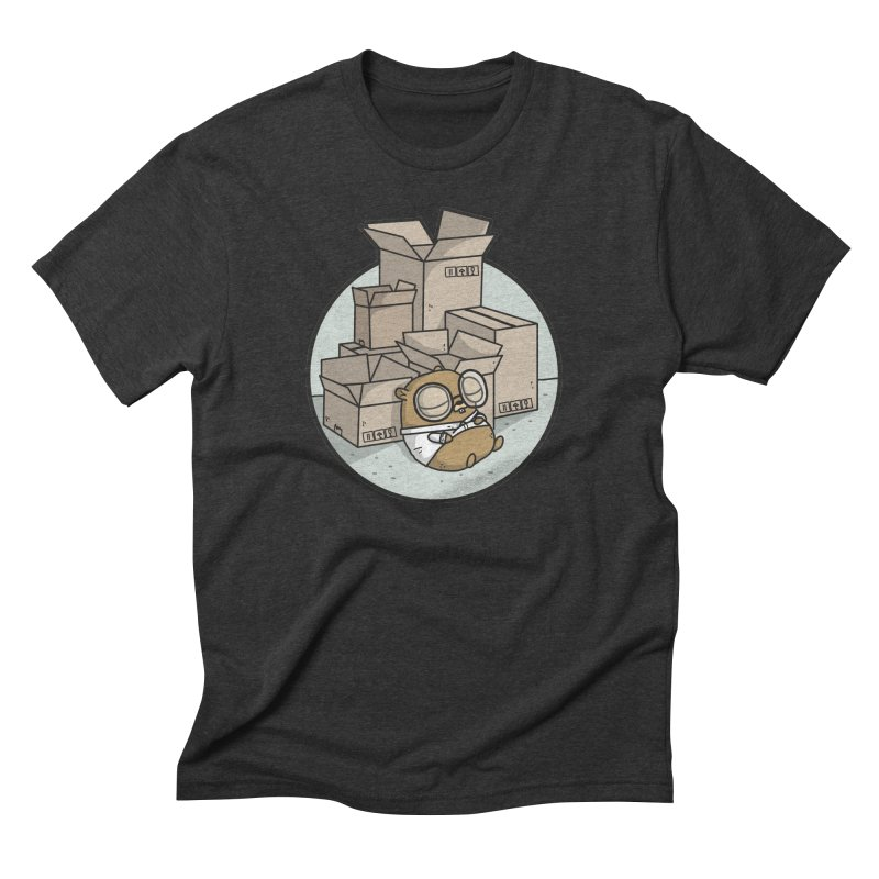 Go Packages Men's Triblend T-Shirt by Women Who Go