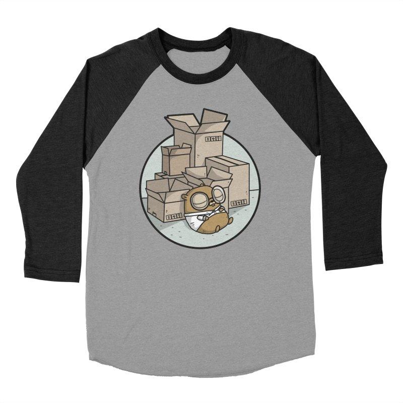 Go Packages Women's Baseball Triblend Longsleeve T-Shirt by Women Who Go