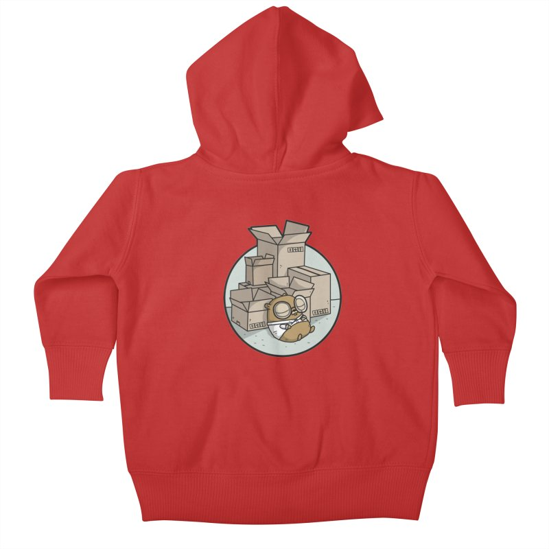 Go Packages Kids Baby Zip-Up Hoody by Women Who Go