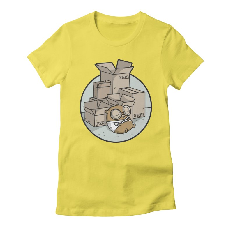 Go Packages Women's Fitted T-Shirt by Women Who Go
