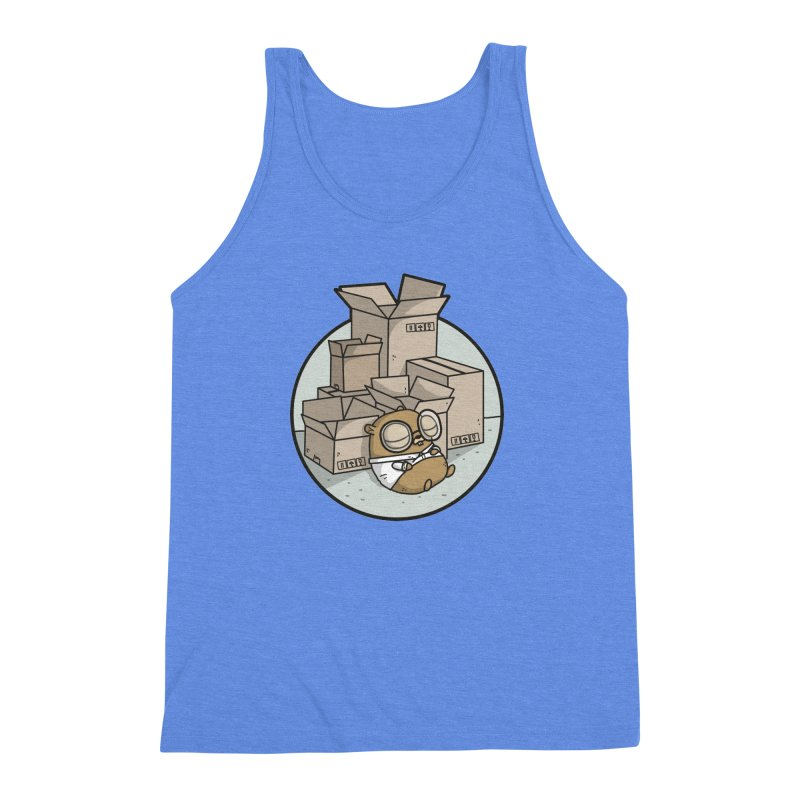 Go Packages Men's Triblend Tank by Women Who Go