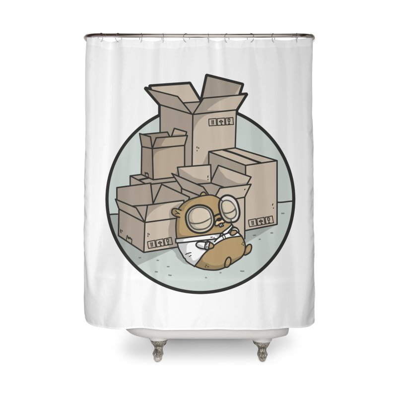 Go Packages Home Shower Curtain by Women Who Go