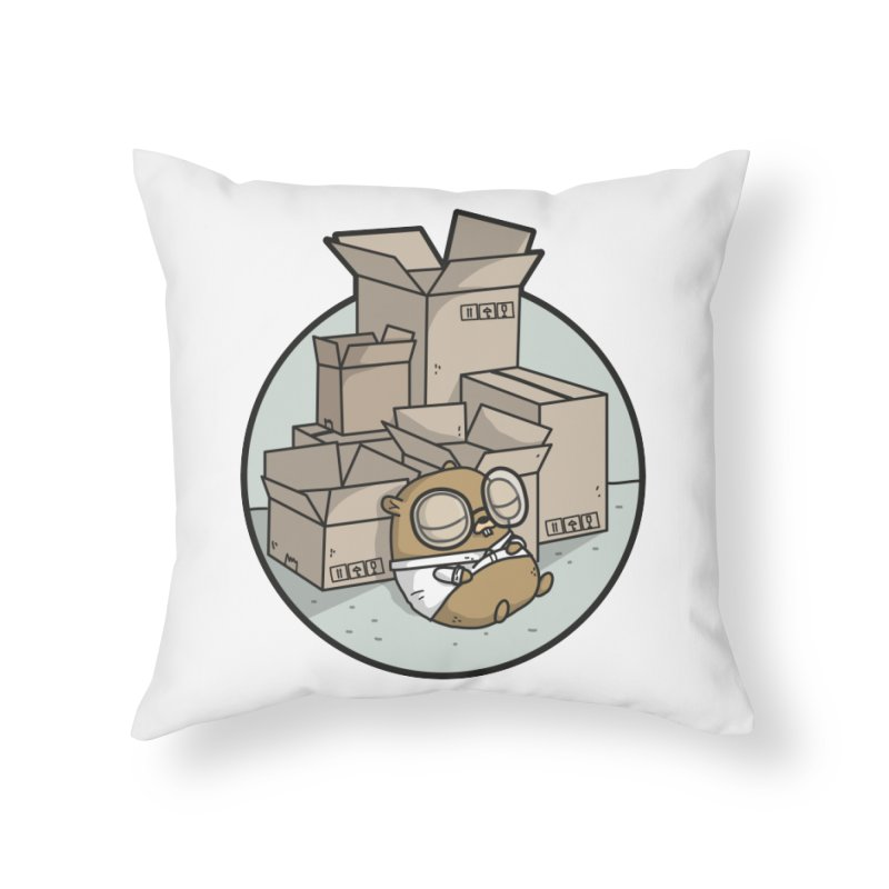 Go Packages Home Throw Pillow by Women Who Go