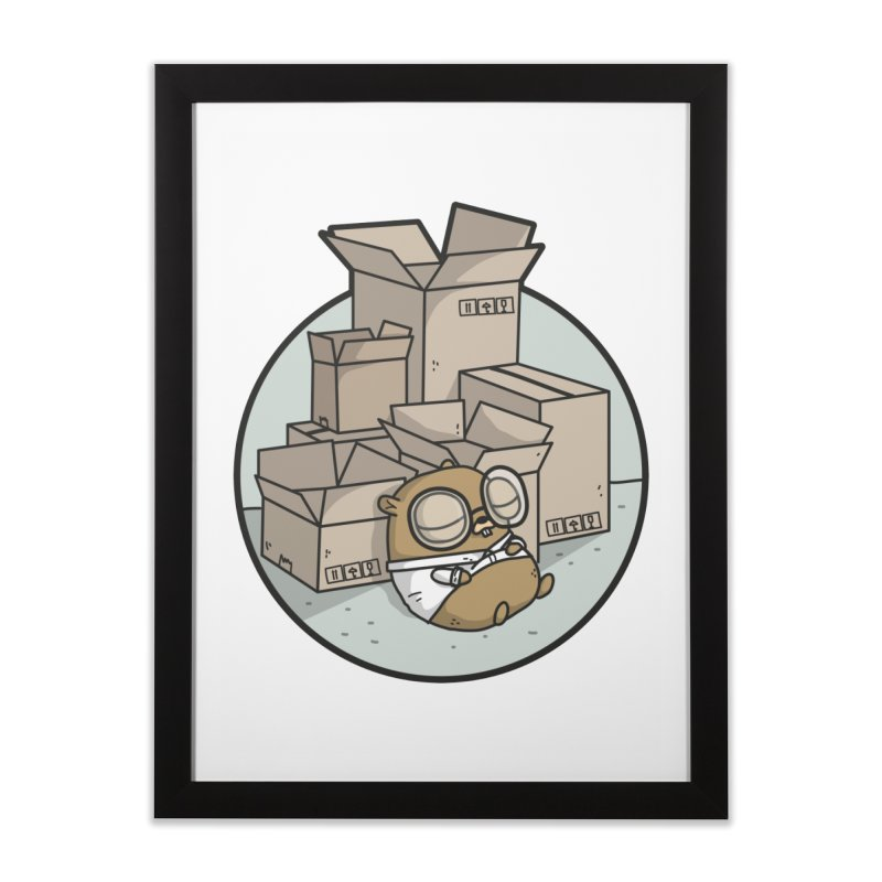 Go Packages Home Framed Fine Art Print by Women Who Go