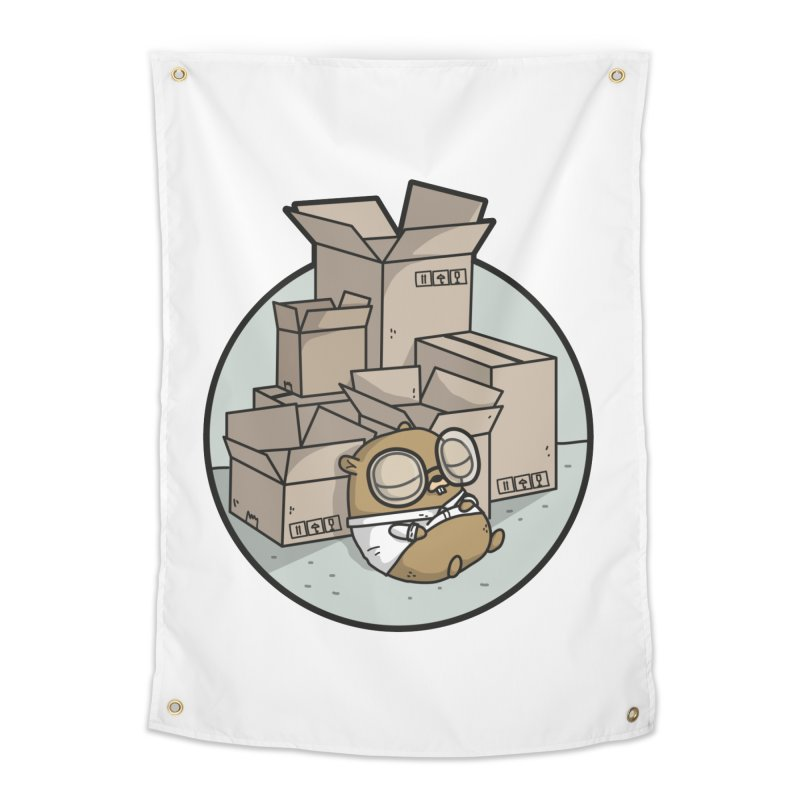 Go Packages Home Tapestry by Women Who Go