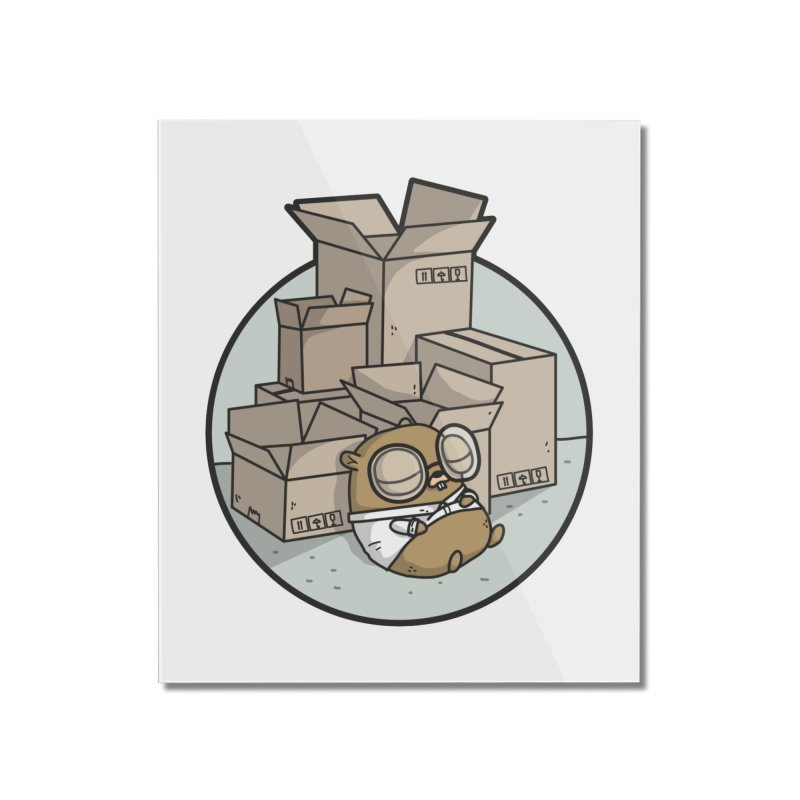 Go Packages Home Mounted Acrylic Print by Women Who Go
