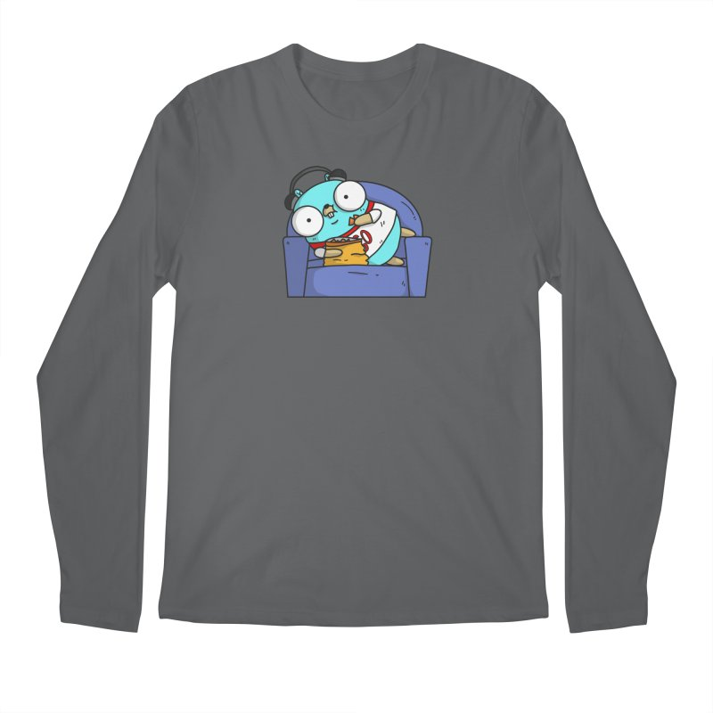 Lazy Gopher Men's Longsleeve T-Shirt by Women Who Go