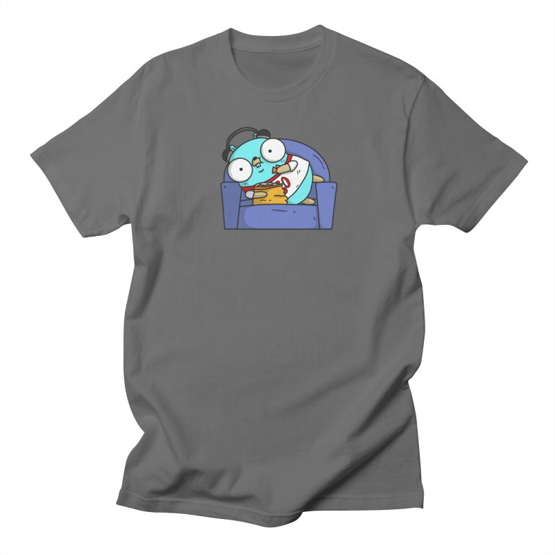 Lazy Gopher Men's T-Shirt by Women Who Go