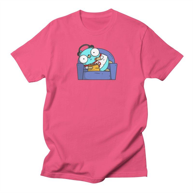 Lazy Gopher Men's Regular T-Shirt by Women Who Go