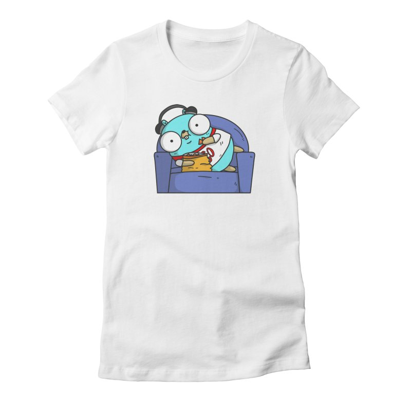 Lazy Gopher Women's T-Shirt by Women Who Go