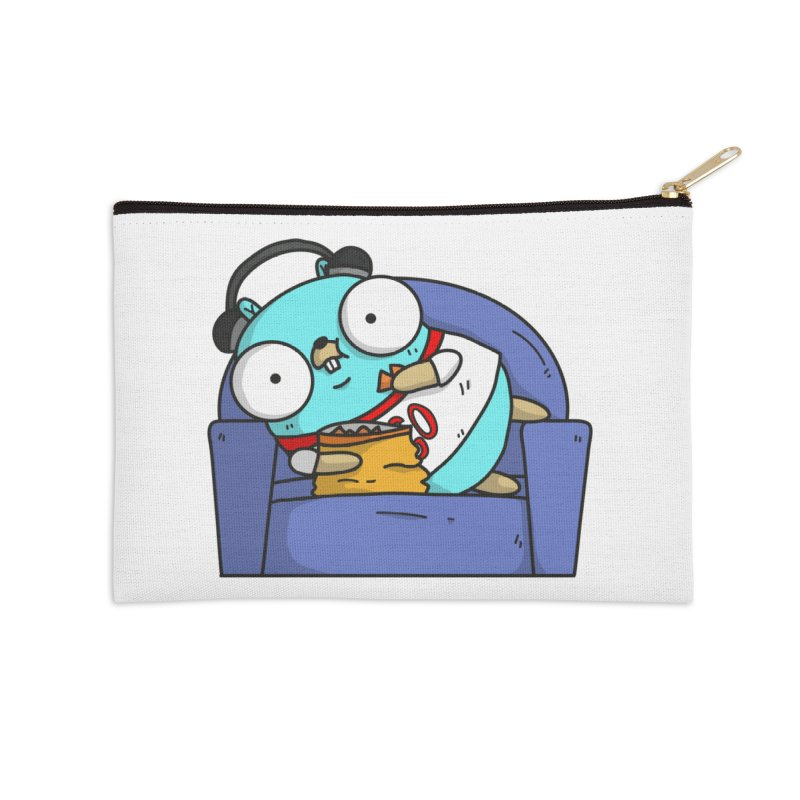 Lazy Gopher Accessories Zip Pouch by Women Who Go