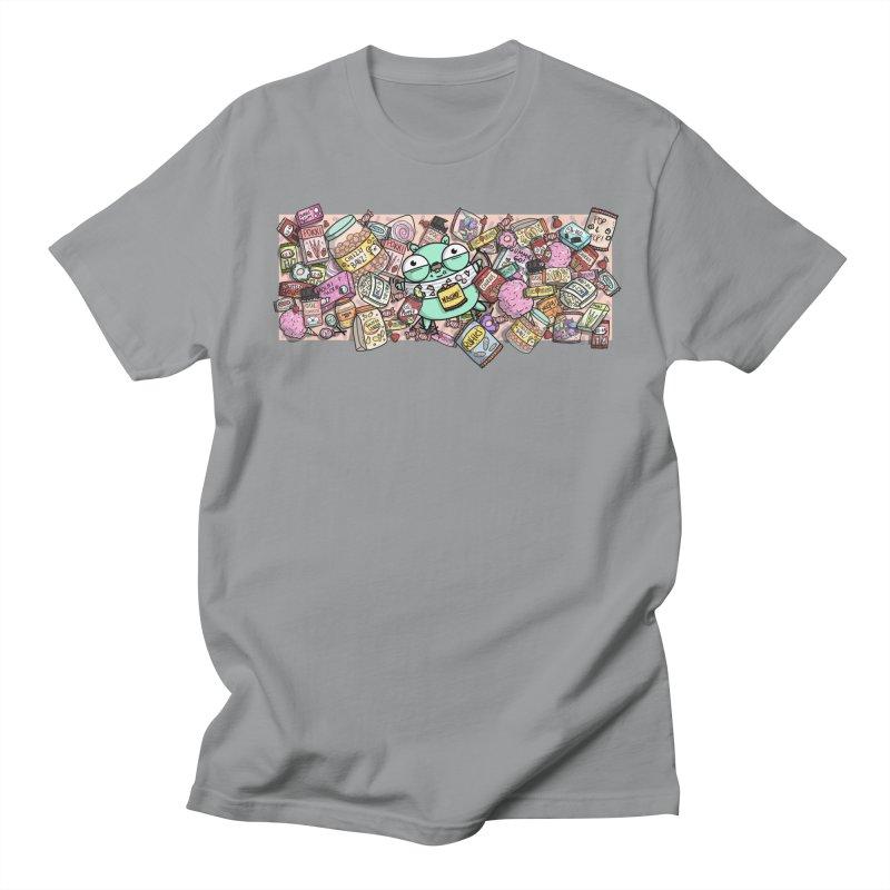 Gopher Snacks Men's Regular T-Shirt by Women Who Go
