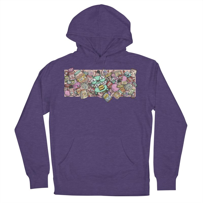 Gopher Snacks Men's French Terry Pullover Hoody by Women Who Go