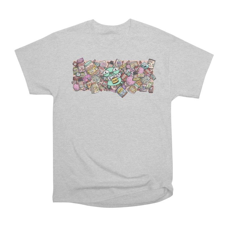 Gopher Snacks Men's Heavyweight T-Shirt by Women Who Go