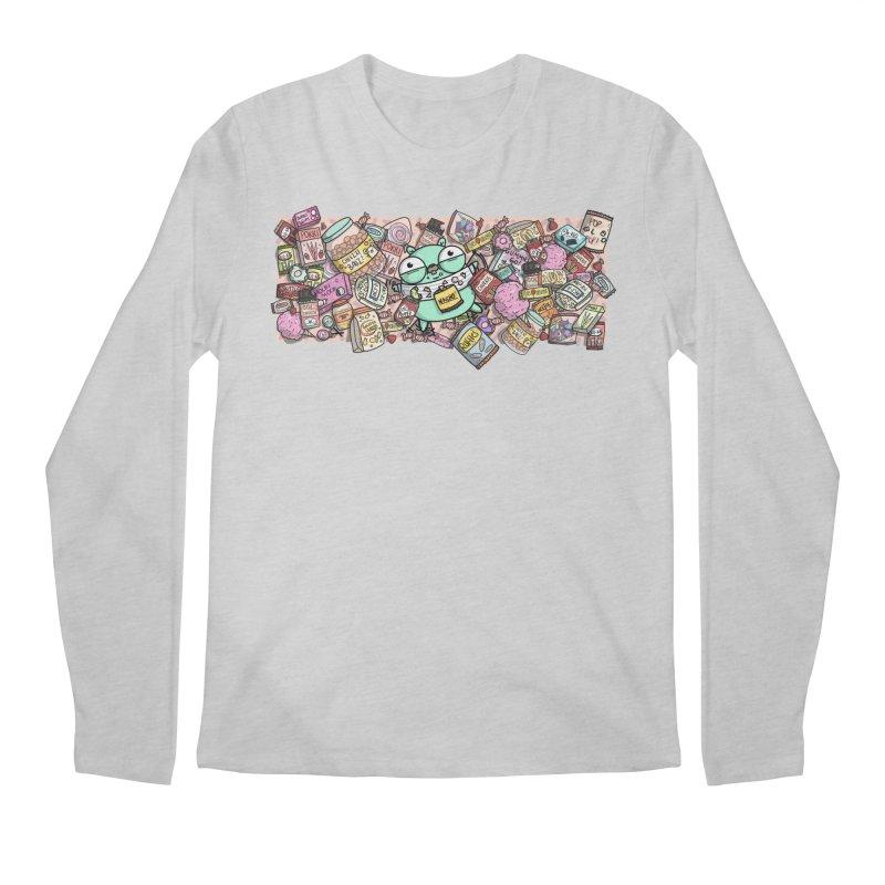 Gopher Snacks Men's Regular Longsleeve T-Shirt by Women Who Go