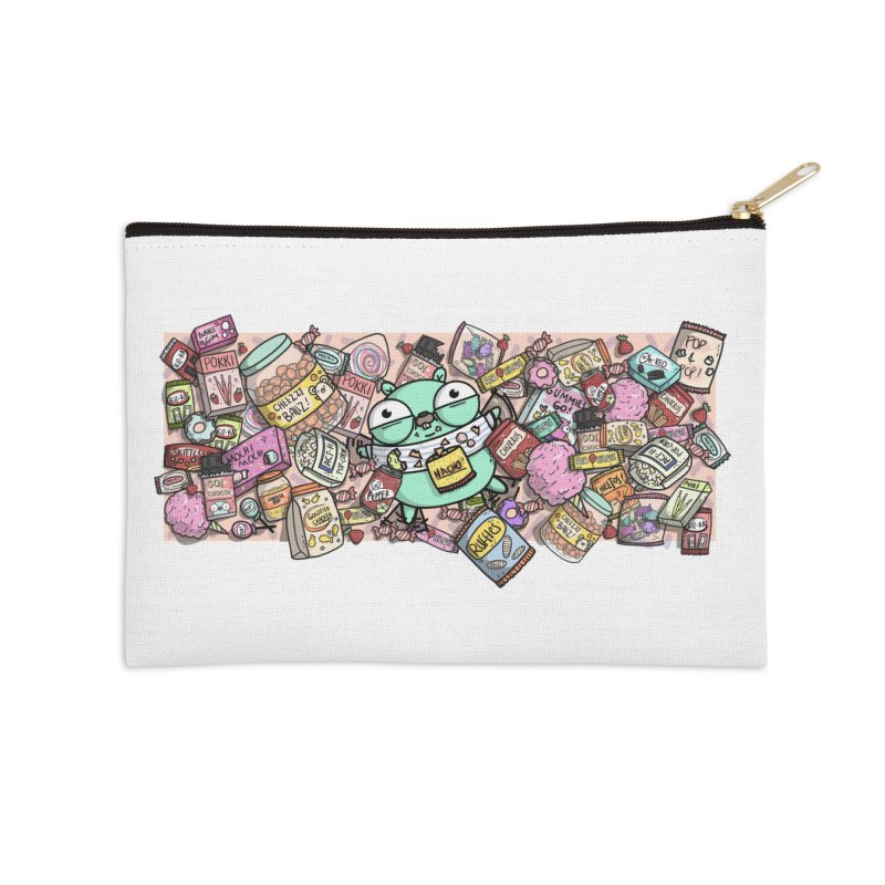 Gopher Snacks Accessories Zip Pouch by Women Who Go